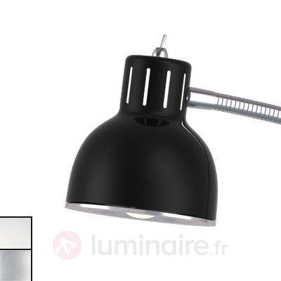 Lampadaire LED noir minimaliste Duett - Lampadaires LED