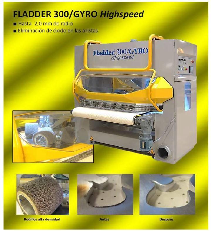 FLADDER GYRO - Máquinas automáticas para desbarbado fléxible y preparación de superficies