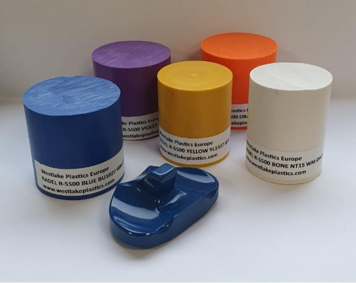 Radel R5500 PPSU polyfenylsulfoon van medische kwaliteit - Geëxtrudeerde staven en platen voor orthopedie, trauma en wervelkolominstrumente