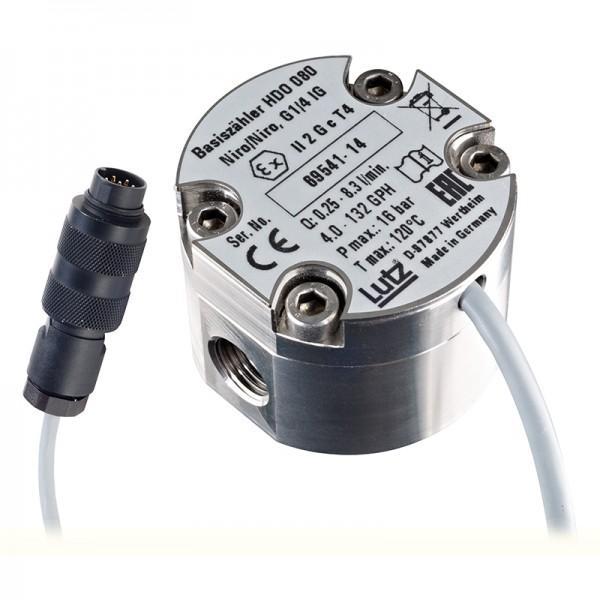 Flow meter HDO 080 - Oval gear flow meter