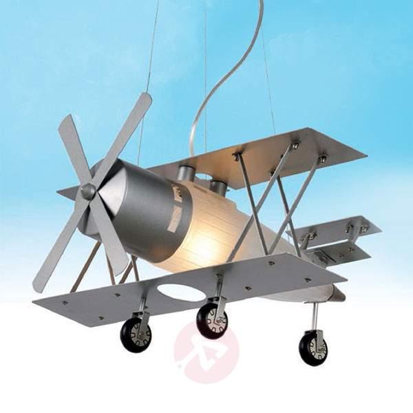 Focker - hanging light in an aeroplane design - Pendant Lighting