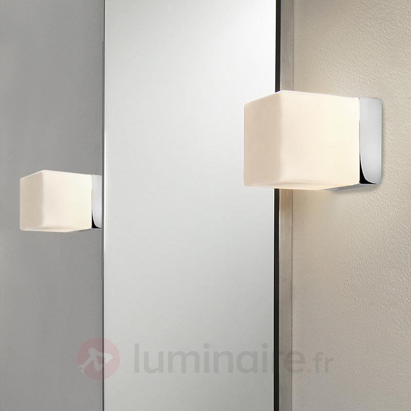 Applique CUBE de style sobre - Salle de bains et miroirs