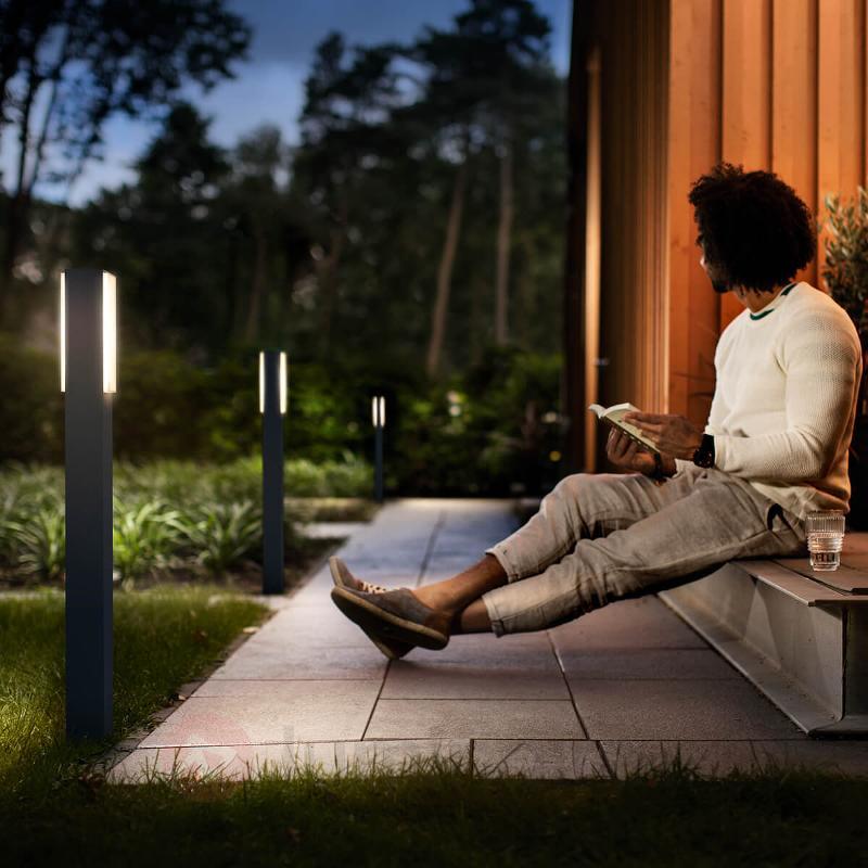 Borne lumineuse LED blanc chaud Stratosphère - Bornes lumineuses LED