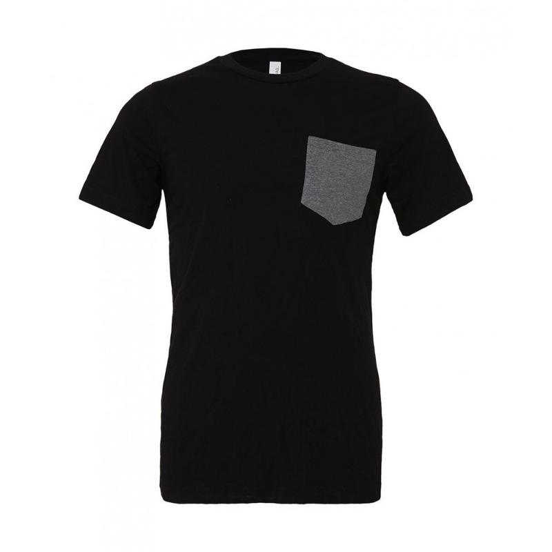 Tee-shirt homme avec poche Jersey - Manches courtes