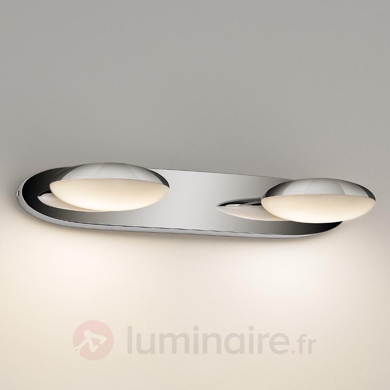 Applique LED Hotstone à deux lampes IP44 - Salle de bains et miroirs