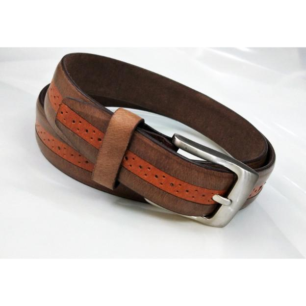 English leather grain belt - English leather grain belt for men
