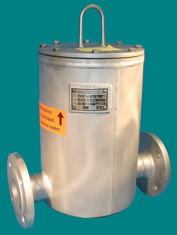 Soupapes combinées de pression et de vide - KITO VD/TG-... - Robinets de conduites, avec fonction de soupape de ventilation