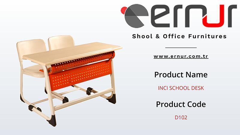 Double School Desk - School Furniture