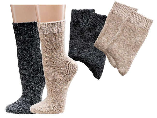 6545 - Wool Socks with Cashmere - Luxery for the feet