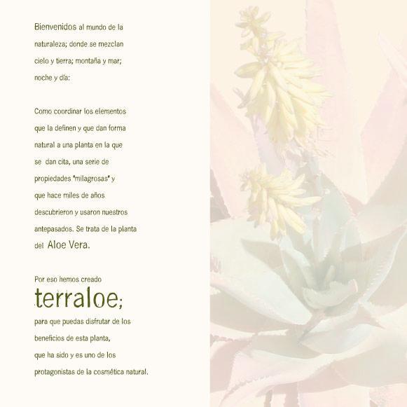 Terraloe - El aloe vera como protagonista.