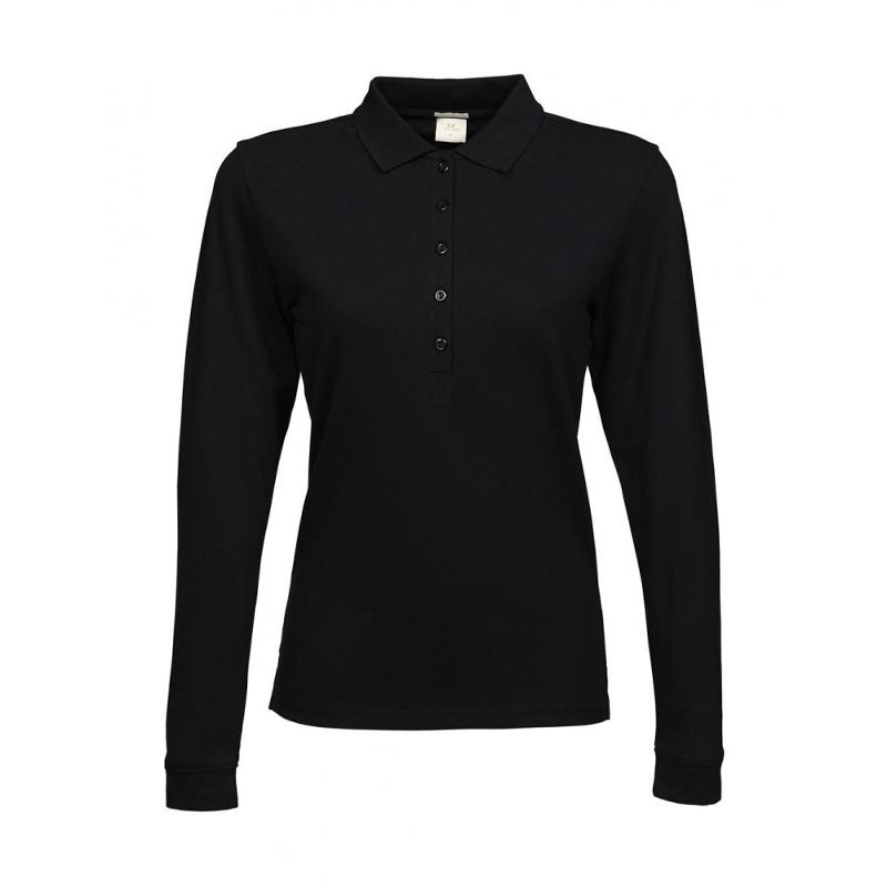 Polo femme Luxe S-L - Manches longues