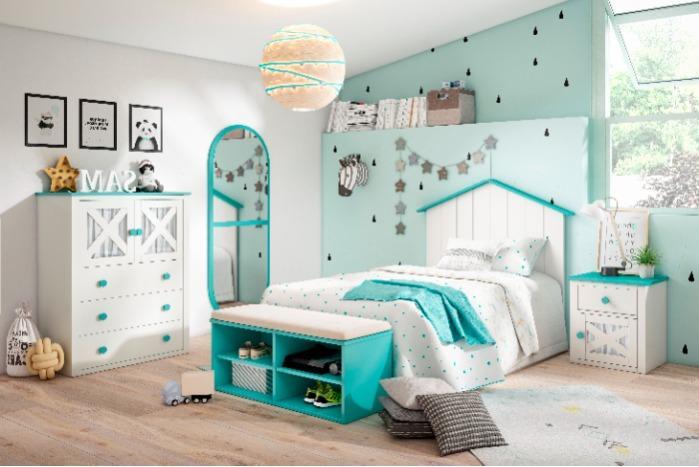 Dormitorio juvenil  de diseño -