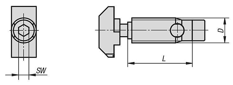 Fixation automatique type B - Raccords