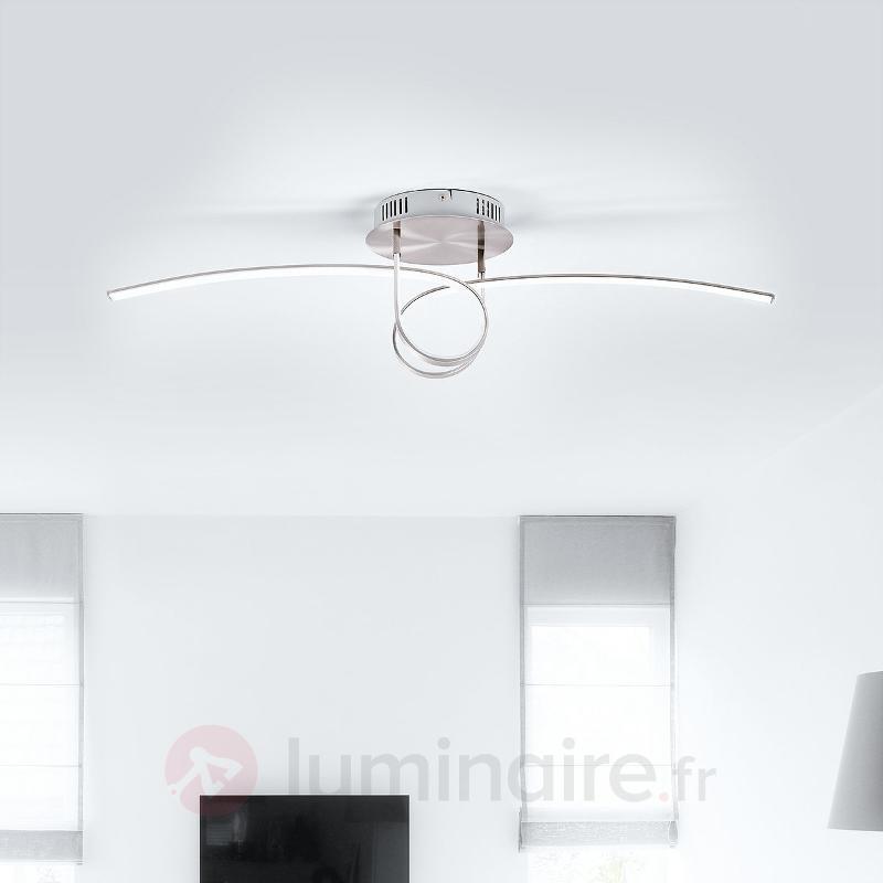 Plafonnier LED en forme de boucle Eldin - Plafonniers LED