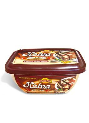 Halva with cocoa - null
