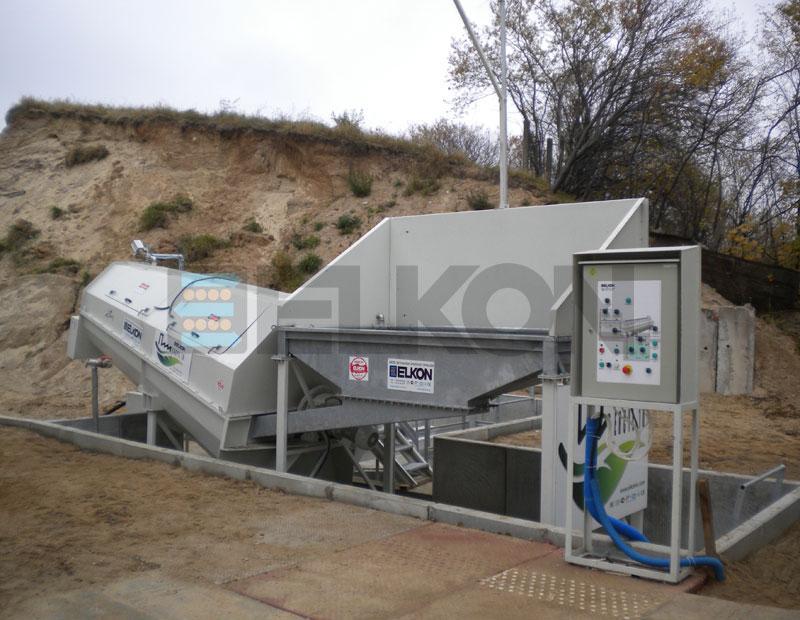 Elkon Concrete Recycling Plants - CONCRETE RECYCLING PLANTS