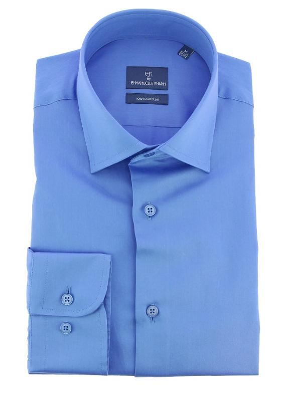 Chemises - Emmanuelle Khanh Regular Fit - Medium Blue