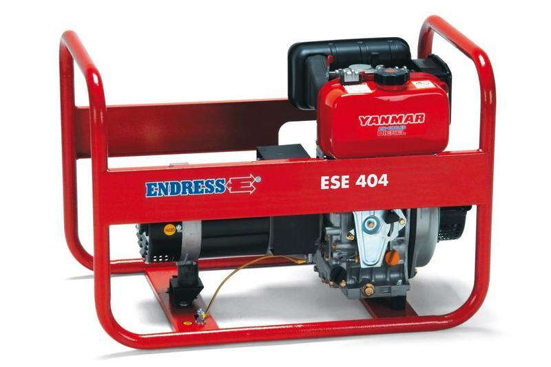 POWER GENERATOR for Professional users - ESE 604 YS Diesel