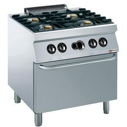 GAMME MEDIUM 1700 (700) - GAS COOKING RANGE