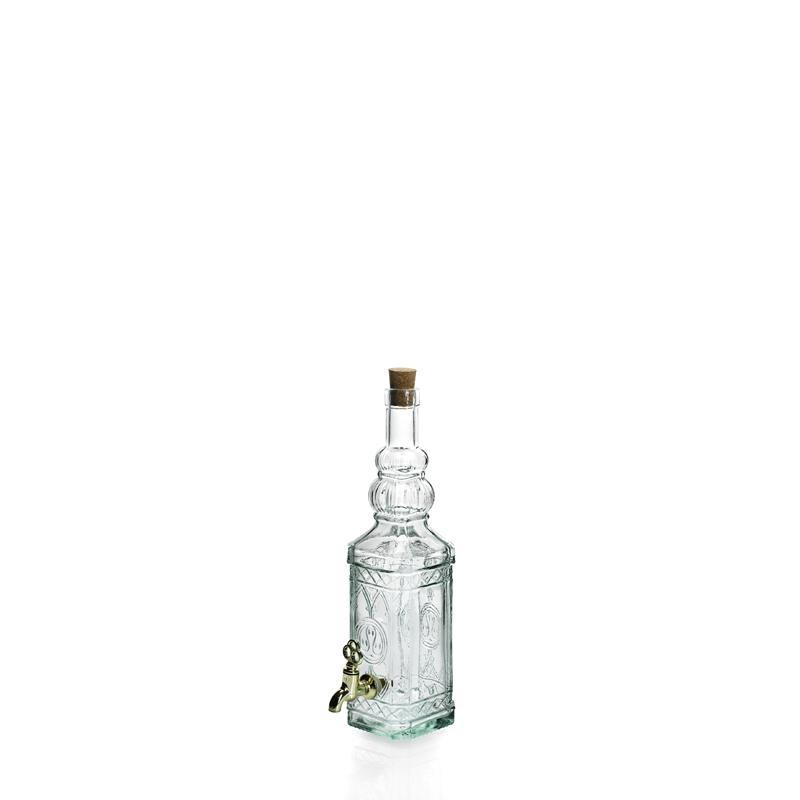 Bouteille 700 ml Miguelette en verre recyclé avec robinet