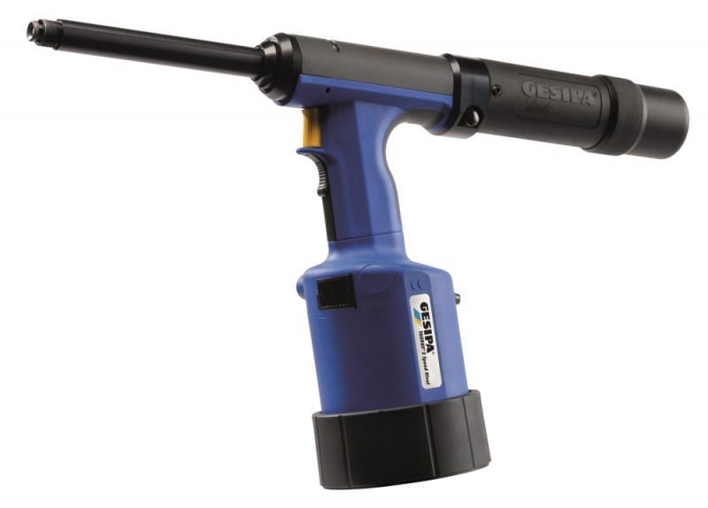TAURUS® 2 Speed Rivet (Remachadora neumático-hidráulica) - La remachadora neumático- hidráulica con cartucho y breve tiempo de ciclo