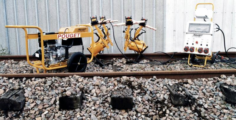 Machines for Track Works - VT.3 Portable Vibrating Tamping Set