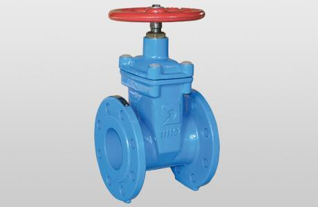 Flat-wedge valve GVE. - soft sealing - GGG-50