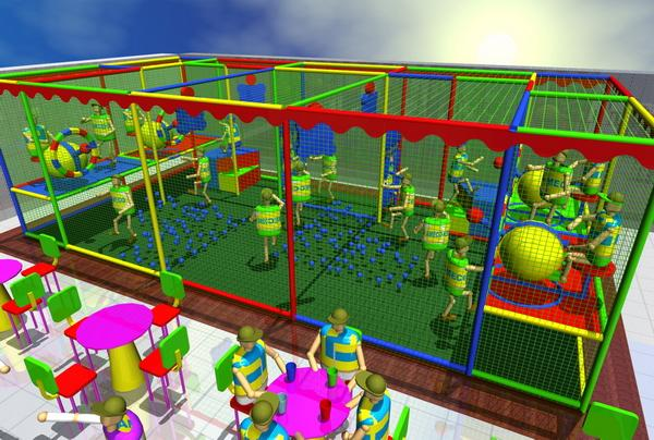 Fun Ball Shooters (FBS) - Play Zones