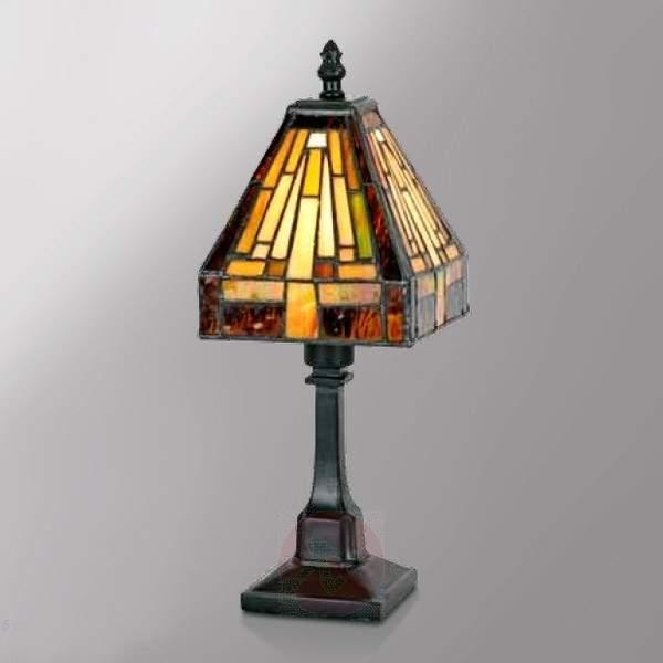 Multi-faceted table lamp BEA in the Tiffany style - Bedside Lamps