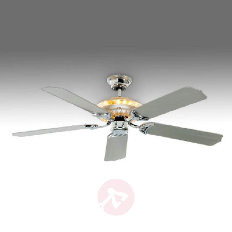 Tornado ceiling fan, silver-grey - fans
