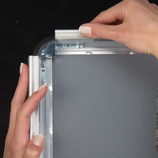 Click Frames - Cadre click bord 32 mm coins 45°
