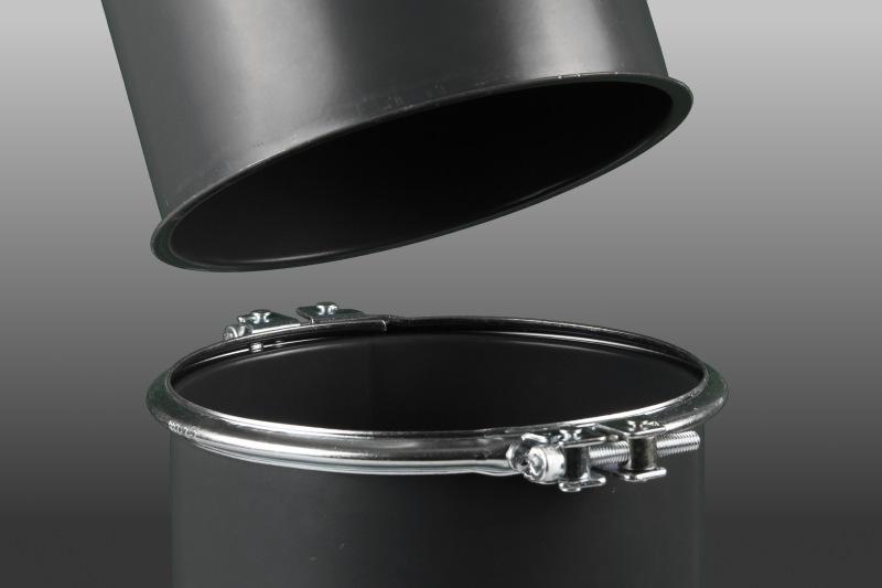 Zweiteiliger Spannring - Spannringverbindungen, zweiteilig, für 1, 2 oder 3 mm Rohrbau