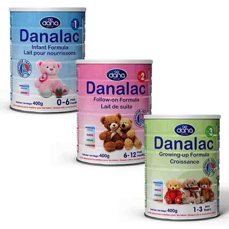 DANALAC嬰幼兒配方奶粉