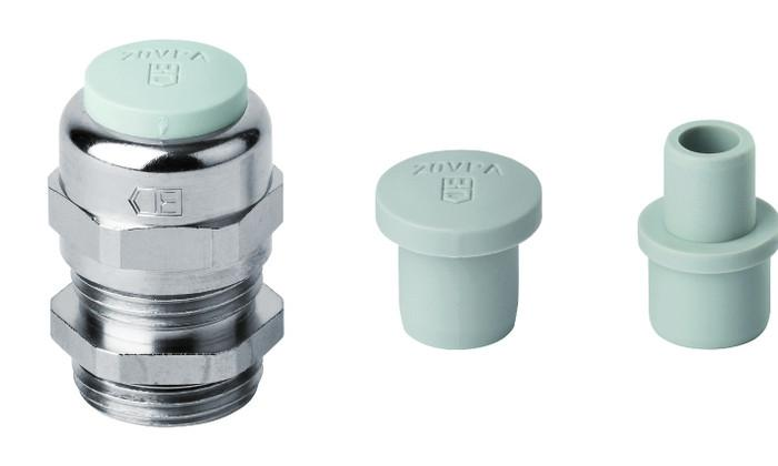 PERFECT prensaestopa de latón métrico - PERFECT prensaestopa de latón niquelado con rosca métrica M12 - M63