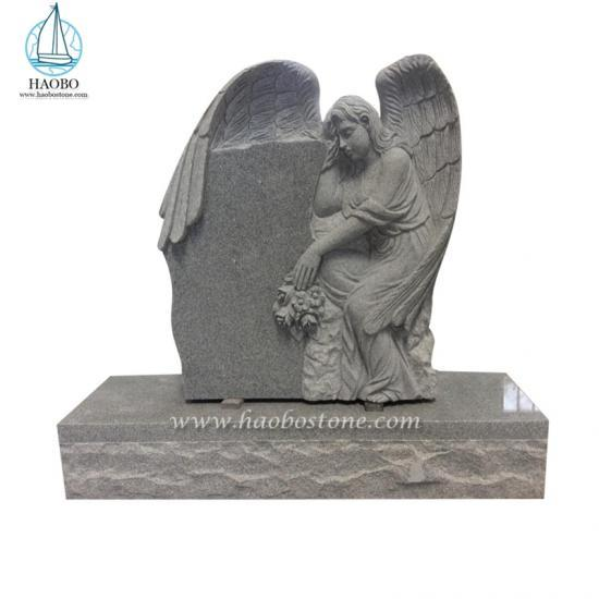 Wholesale Factory Monument Angel Carving Headstone Granite G654 Monument - Angel Headstone