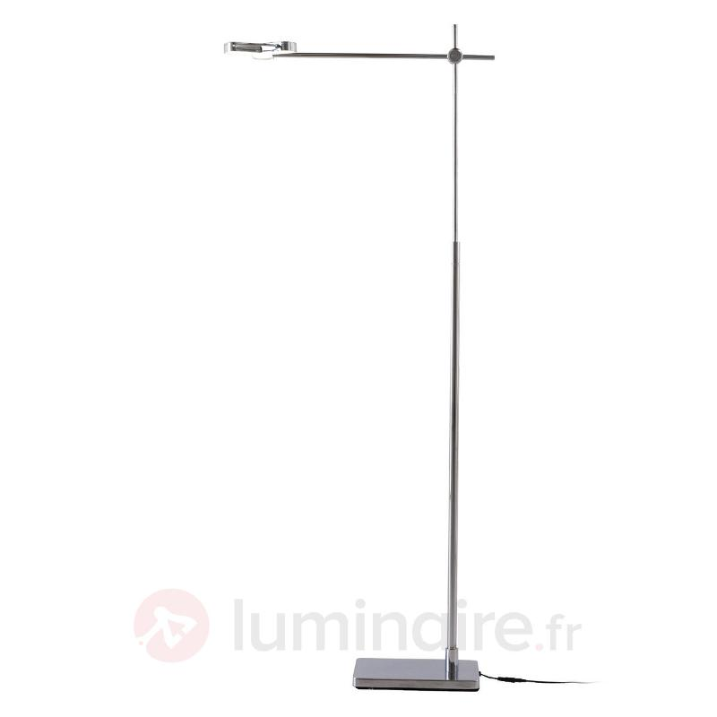 Lampadaire futuriste LED Newmox réglable - Lampadaires LED