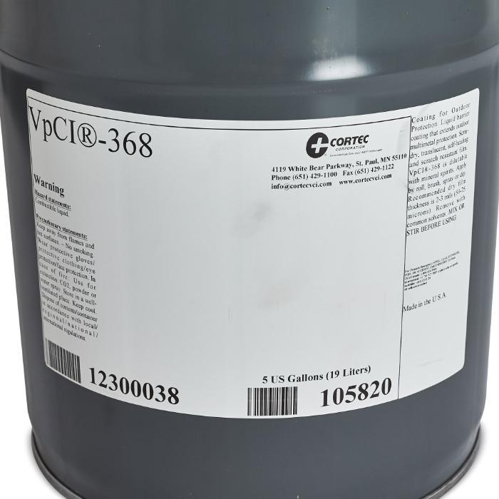 Cortec VPCI 368  - Recubrimiento temporal a base de solvente