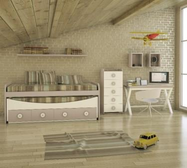 DORMITORIO COLECCION HAPPY PLUS 128
