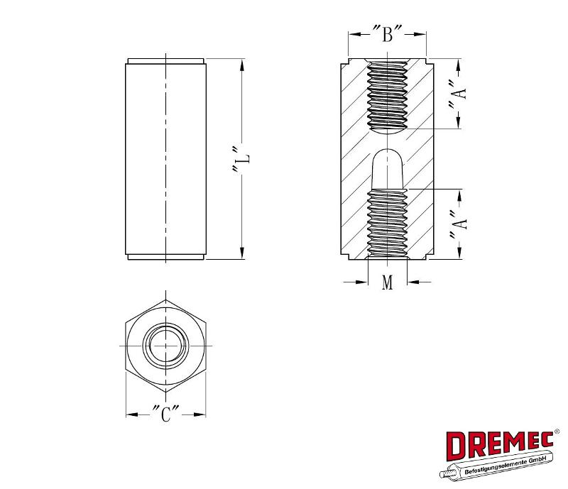 Spacer Bolts DII - null