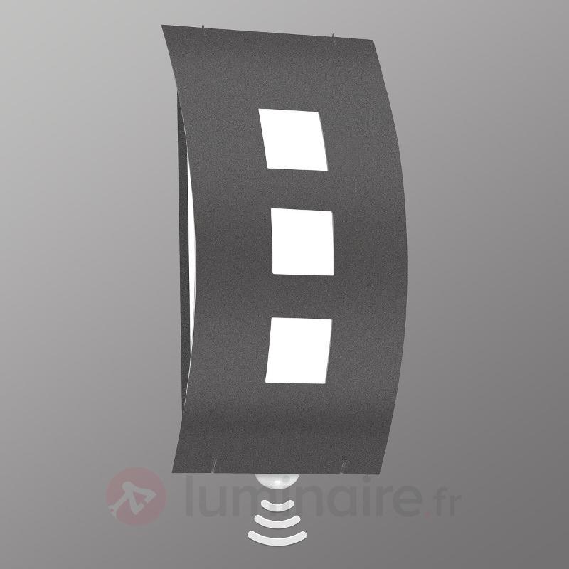 Délicate applique d'extérieur Graal - Appliques d'extérieur avec détecteur