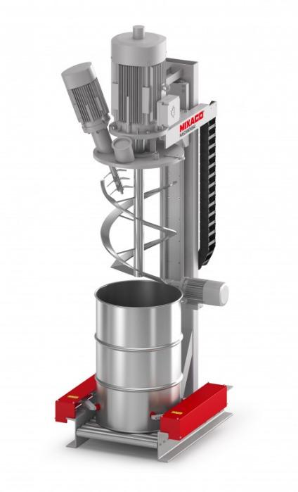 Sack and Drum Mixer Speedy™ - The MIXACO Sack and Drum mixer Speedy™ is ideal for mixing of small batches.
