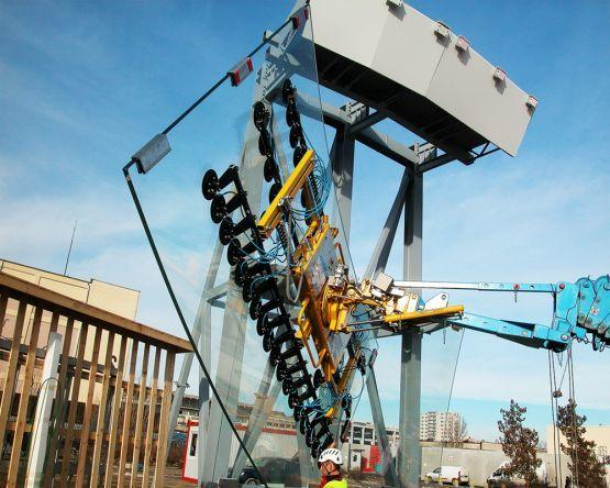 Overhead manipulators for assembly lifts or assembly cranes - Overhead manipulators for attach on assembly lifts or assembly cranes