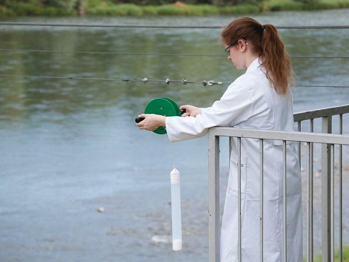 AquaSampler - Dispositif de prélèvement d'échantillons, pour l'eau et les effluents, FEP/PTFE