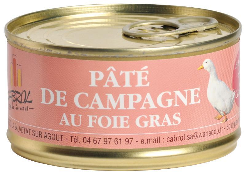 Pâté de Campagne au Foie Gras et à la Fleur de Sel de... - Epicerie salée