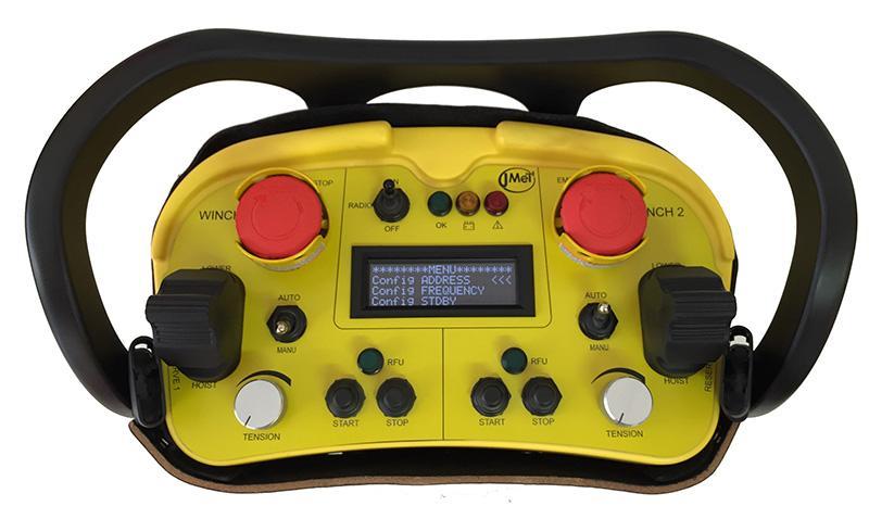 Radiocommande industrielle robuste  - RCB1000
