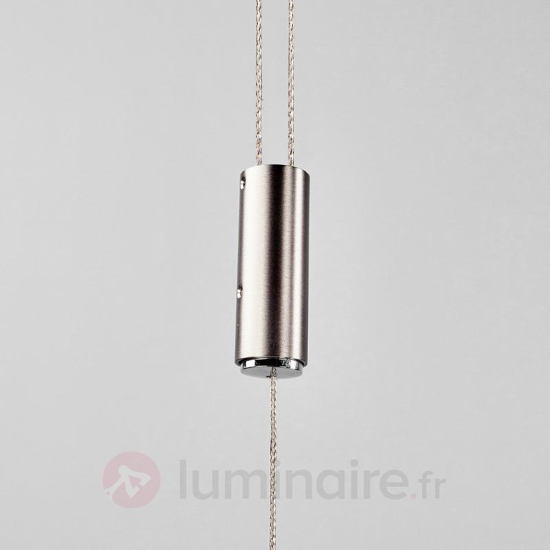 Chêne naturel - suspension LED variable Talu - Suspensions en bois