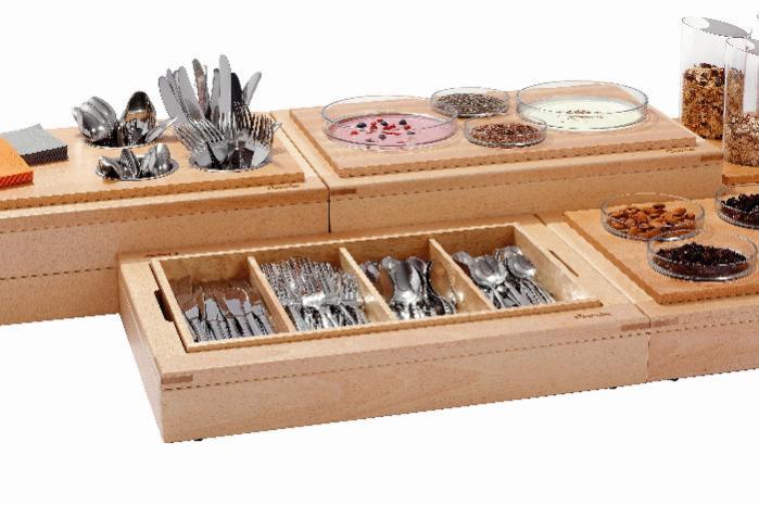 Buffet-System Set BKA4 - Art.-Nr.: 500736