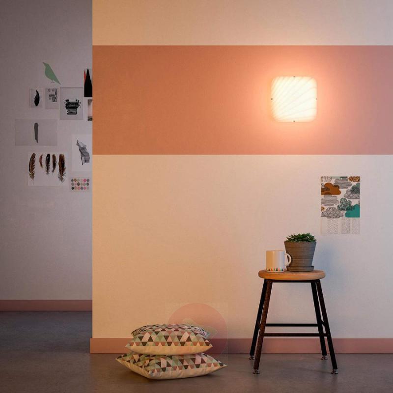 Elegant Mezen LED glass wall light - indoor-lighting