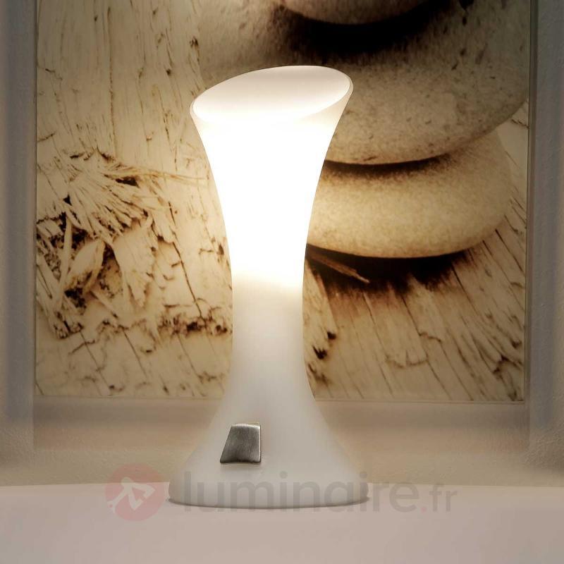 Lampe à poser NIKITA variat d'intensité tactile - Lampes de chevet