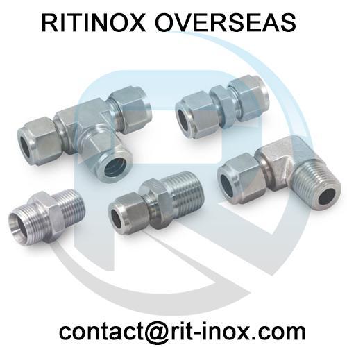 Aluminium Compression Tube Fittings -